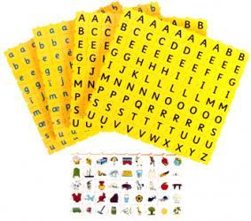 Wordphun Lettres majuscules, lettres minuscules et images - Cycles 1 et 2