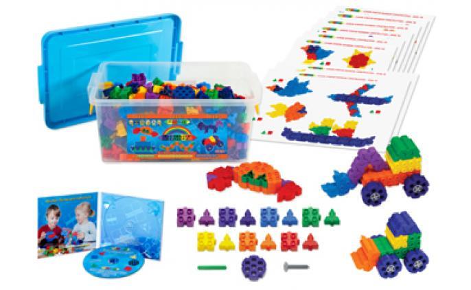 Junior Starter Rainbow 600 Set - 41036PLRB (G*)