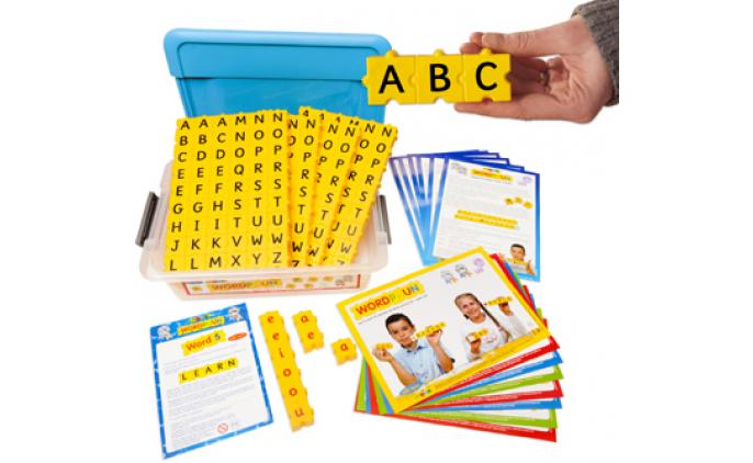 Wordphun Upper Case letters set in a tub - 42022SD