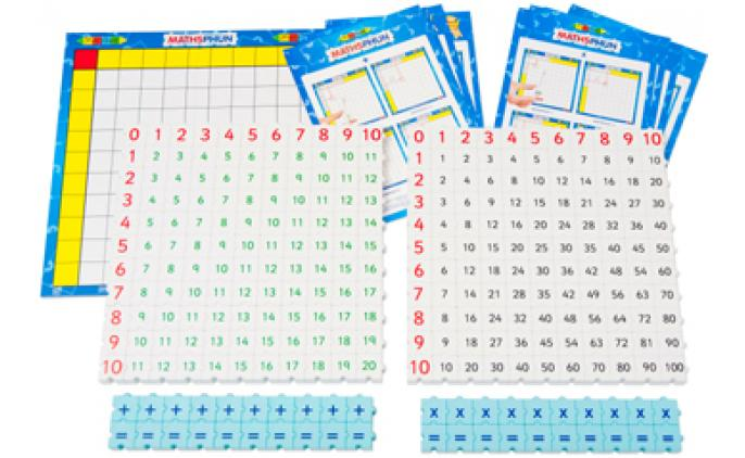 Maths Addition & Multiply set with board in a bag - 42047B