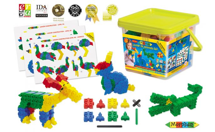Junior 24 Animals set - 52150PL