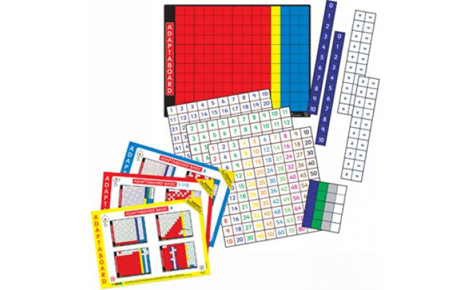 Adaptaboard® Basic Triple Maths Set - 60050
