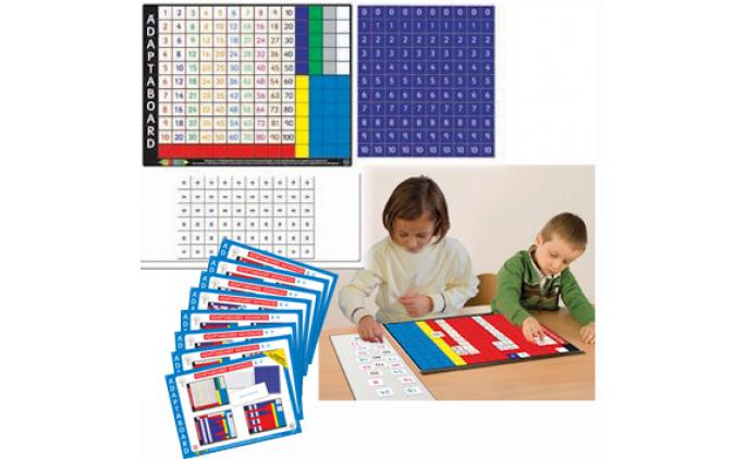 Adaptaboard® Advanced Multiplication and Division Board - 60130