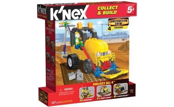 Construction Crew Tieflöffelbagger
