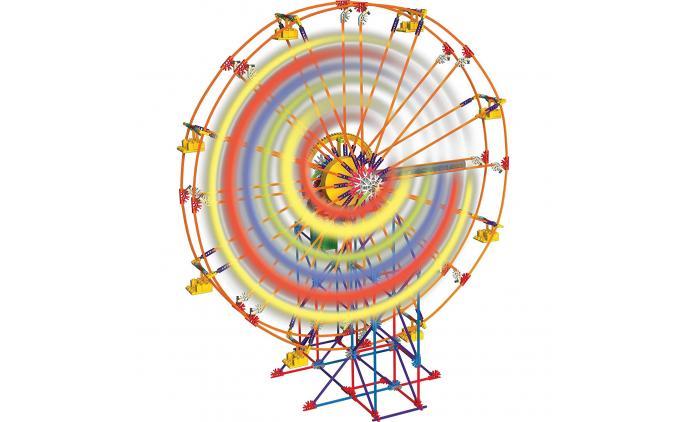 Light up Ferrys Wheel