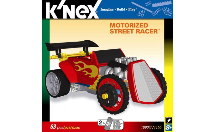 Knex - K'NEX Motorised Street Racer rot