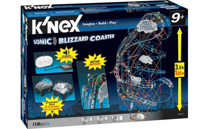 Sonic Blizzard Coaster